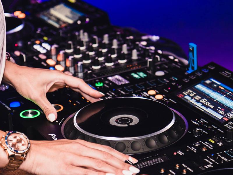 DJ consolle
