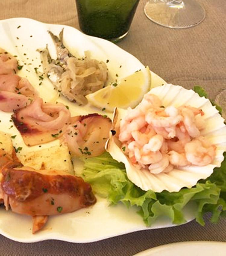 antipasto pesce Tivoli
