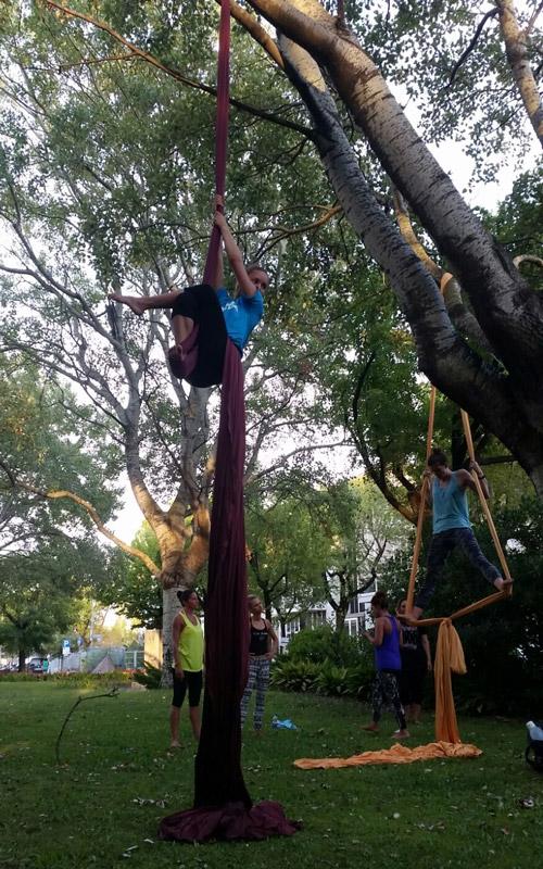 danza acrobatica aerea
