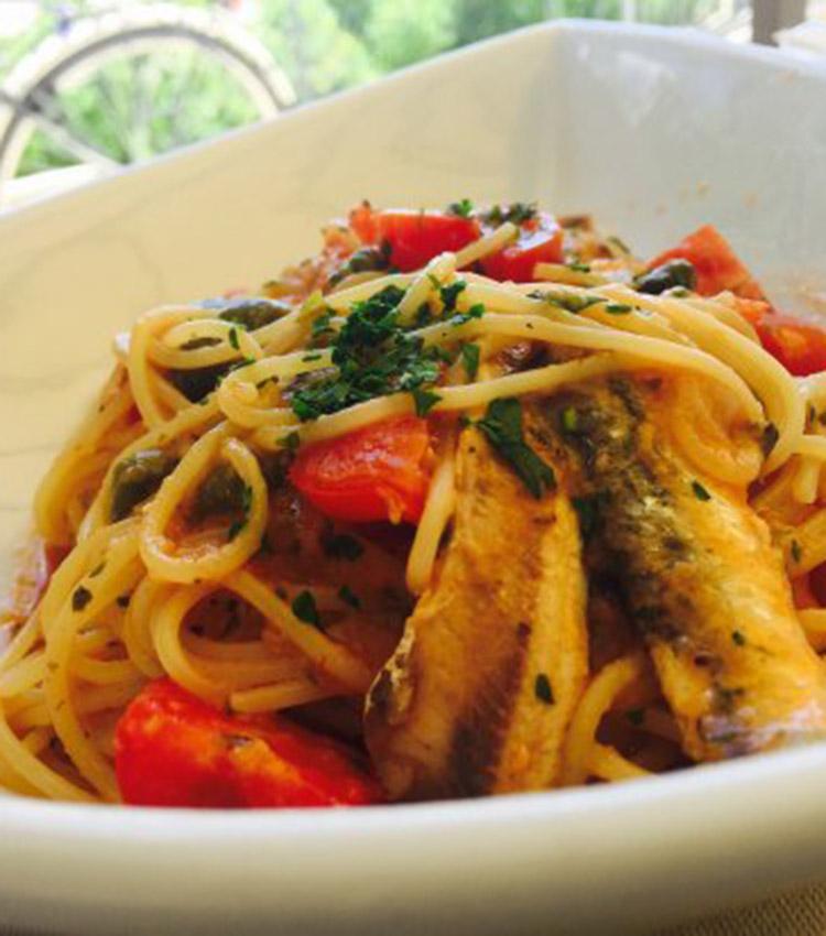 Spaghetti pesce Tivoli